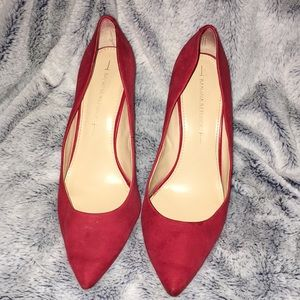 Red Banana Republic Pump Heels
